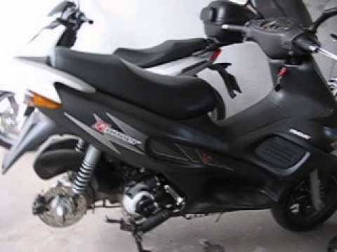 gilera runner vx 125 without exhaust youtube. Black Bedroom Furniture Sets. Home Design Ideas