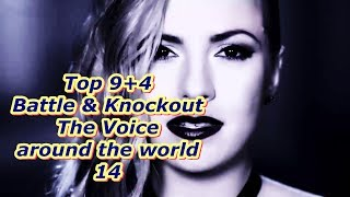 Top 9 Battle & Knockout (The Voice around the world 14)