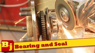 How-To Remove a Rear Axle Bearing / Change Axle Seal