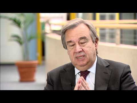 António Guterres, United Nations High Commissioner for Refugees
