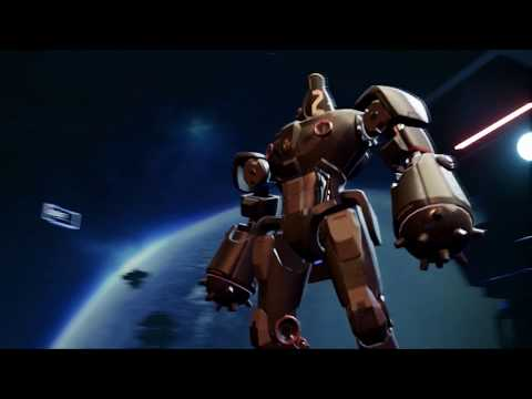 PlayStation VR PSVR : WarBot Gravity Strike Trailer VR4Player thumbnail