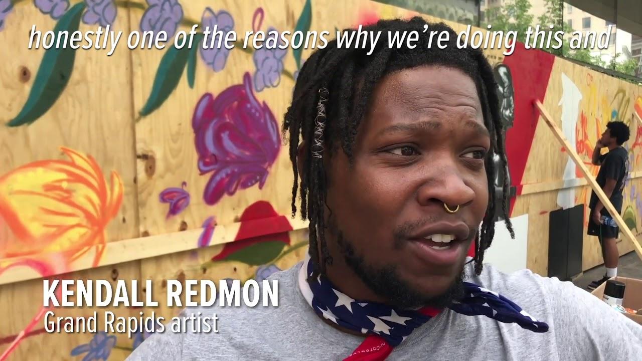 Black Lives Matter murals spring up across Michigan