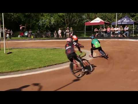2018 ICSF EUROPEAN CLUB CHAMPIONSHIPS - Grand Final - East Park - UK - CYCLE SPEEDWAY
