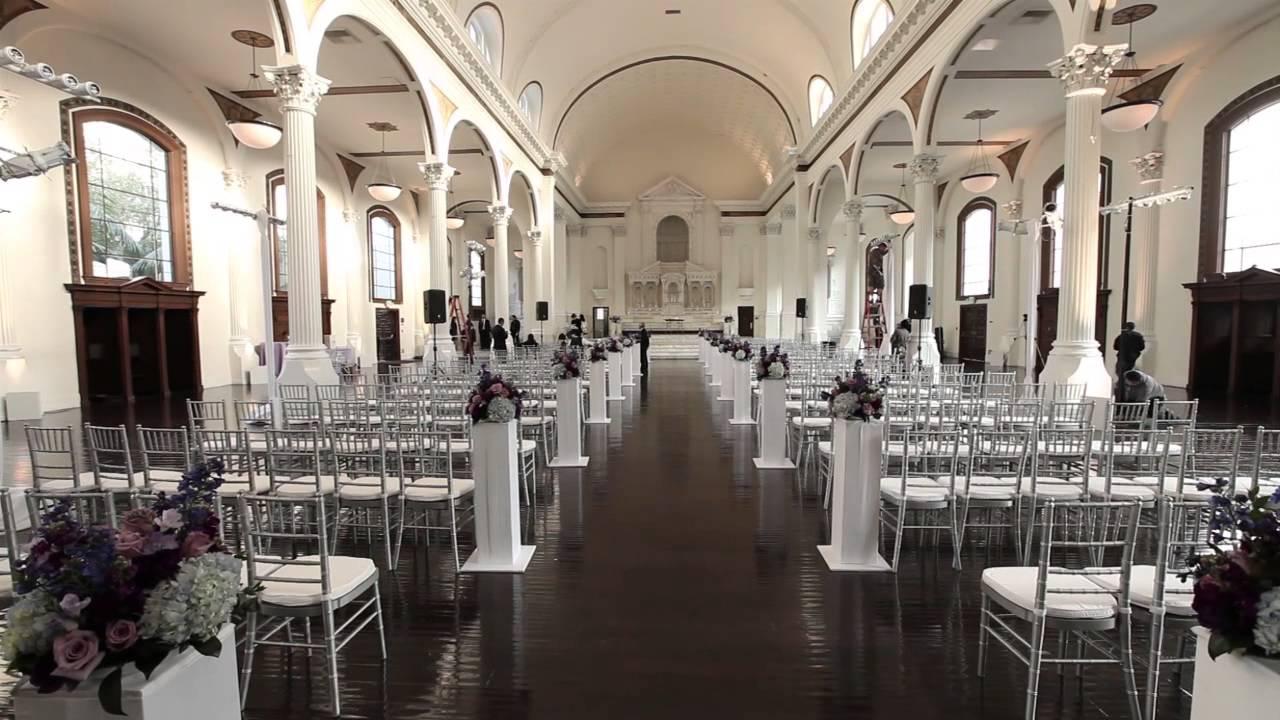 Vibiana wedding venue downtown los angeles ca youtube junglespirit Choice Image