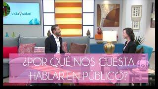 ¿Por qué nos cuesta trabajo hablar en público? |  Usua Manero