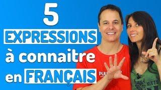 EXPRESSIONS FRANÇAISES à connaitre pour parler comme un Français