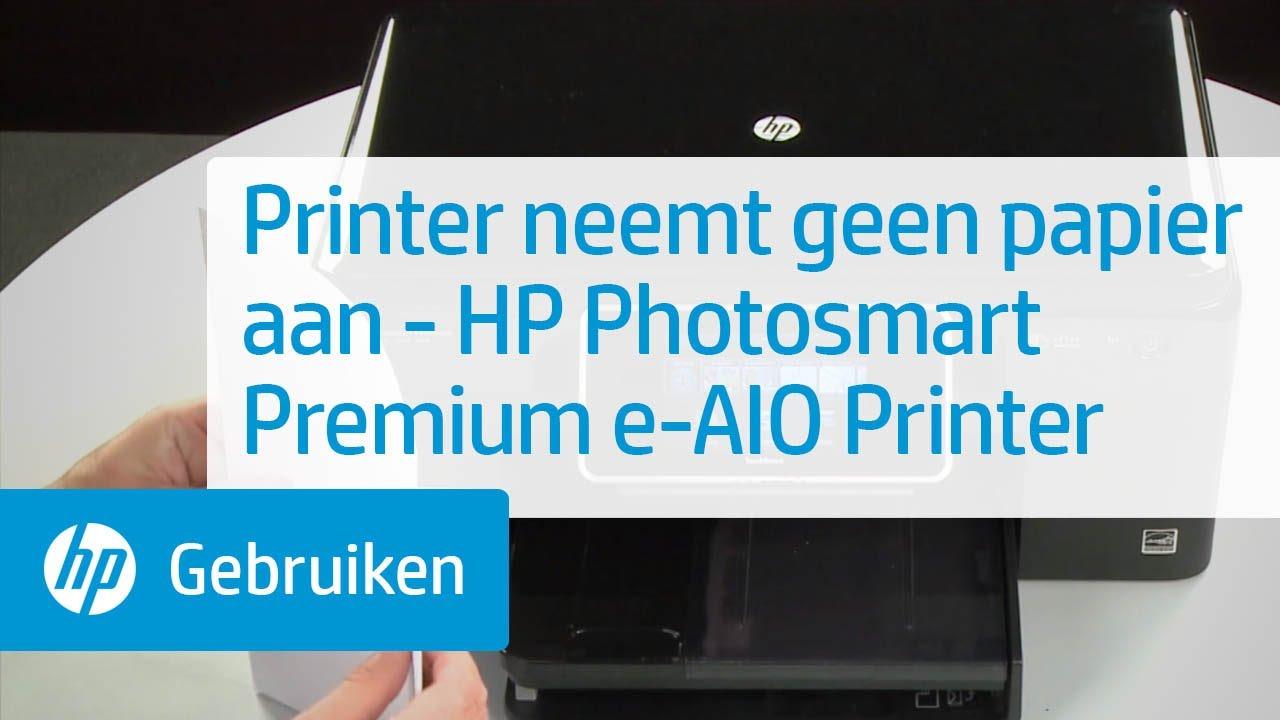 Printer Neemt Geen Papier Aan Hp Photosmart Premium E