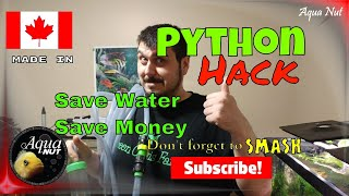 Python Water Changer Hack 🌊 NO More WASTING Water
