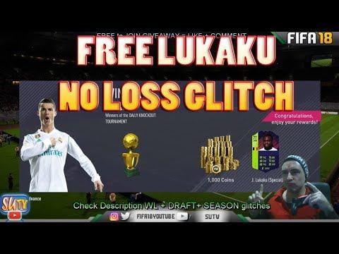 PTG LUKAKU for FREE  * TOURNAMENT GLITCH * Fifa 18 No Loss Glitch Daily Knockout