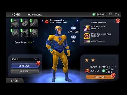 DC Legends Booster Gold