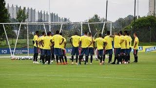 Entrenamiento de la Selección Colombia Sub-23