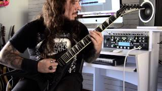 DeathHammer Asphyx. Guitar Cover by Nargalu of Bloody Brotherhood.