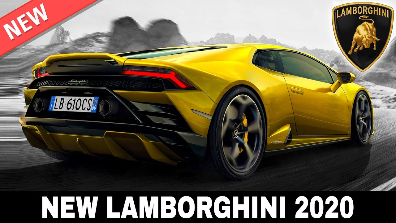 9 Upcoming Lamborghini Models Setting New Standards For Supercar Manufacturers In 2020 Youtube