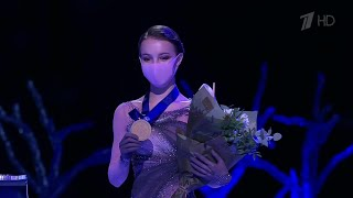 Российские фигуристки заняли весь пьедестал в женском одиночном катании на Чемпионате мира
