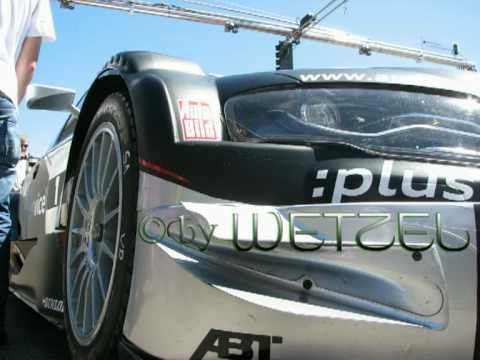Burnout mit Timo Scheider Abt Sportsline DTM Audi A4