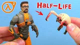 Фото ГОРДОН ФРИМЕН и ХЕДКРАБ из игры Half-life 2  Видео Лепка