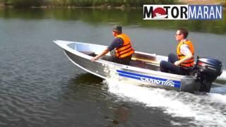 Алюминиевая лодка Салют-360 Jaeger(Алюминиевые лодки от Самарского завода. Жёстко-корпусная лодка прекрасного качества с отличными характери..., 2016-02-24T11:04:48.000Z)