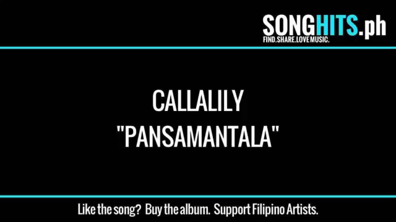 pansamantala callalily lyrics