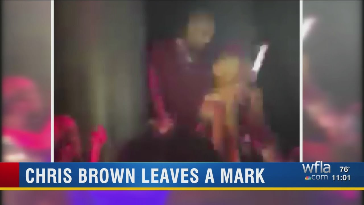 Police: Singer Chris Brown punched photographer at Tampa ...