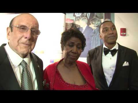Aretha Franklin, Clive Davis & Isaiah Thomas at 2016 Kennedy Center Honors