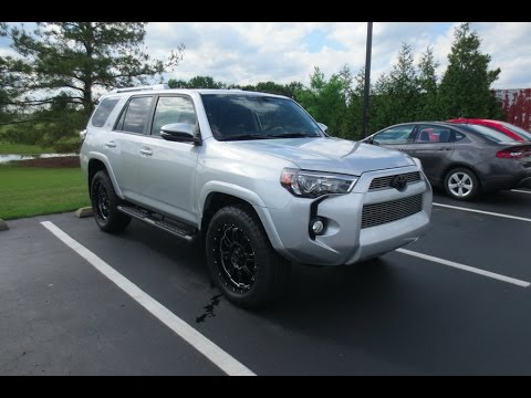 2017 Toyota 4runner >> 2017 Toyota 4Runner XP SR5 4X4 Full Tour & Start-up at Massey Toyota - YouTube