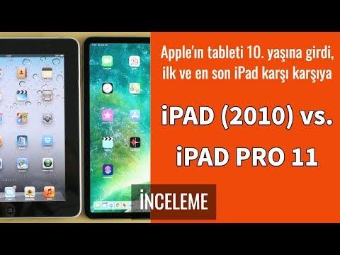 IPad (2010) Vs. IPad Pro 11: İlk IPad Ile En Son IPad Karşı Karşıya