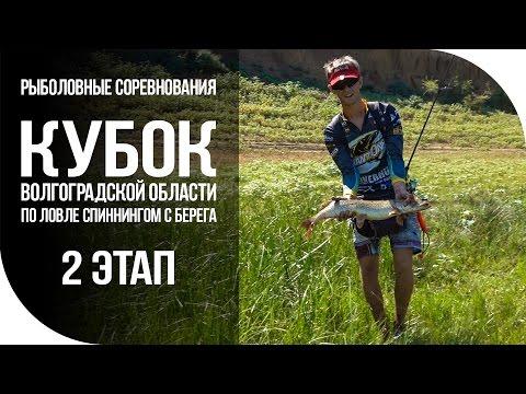 Кубок Волгоградской области по ловле спиннингом с берега. 2 этап.