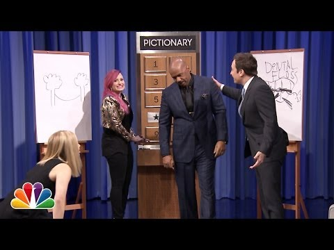 Thumbnail: Pictionary with Kristen Bell, Steve Harvey and Demi Lovato - Part 2