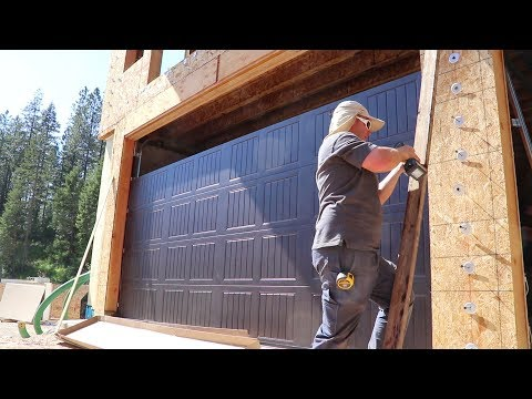 HOLY GARAGE DOORS BATMAN! (Installation Day)
