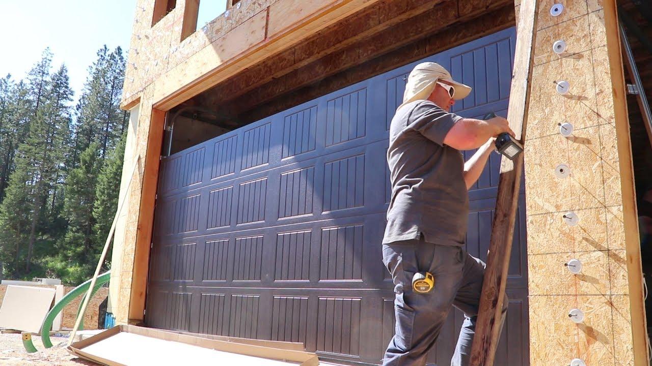 holy-garage-doors-batman-installation-day