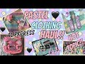 PASTEL KITSCH CLOTHING HAUL!!! ALIEXPRESS KAWAII HAUL!! HOT TOPIC, SANRIO, EBAY & MORE!!!