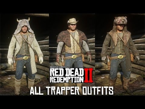 Trapper Red Dead Redemption 2