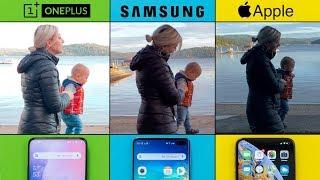 OnePlus 7 Pro vs S10+ vs XS Max - Video Quality Comparison