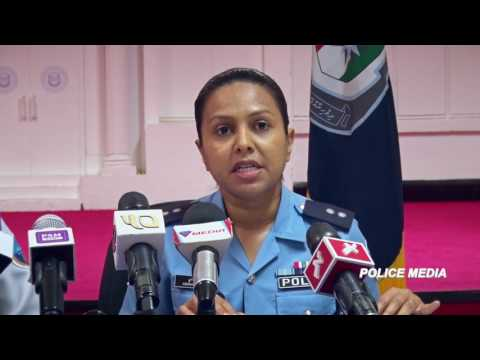 Joint press briefing by Maldives Police Service & Maldives Customs Service