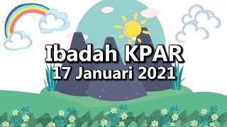 Ibadah Minggu Anak dan Remaja | GKJW Jemaat Tulangbawang - 17 Januari 2021