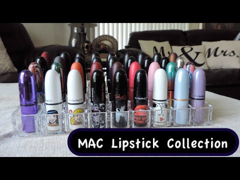 My MAC Lipstick Collection (limited editions!)