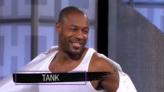 Wednesday on 'The Real': Tank, Cup of Shade!
