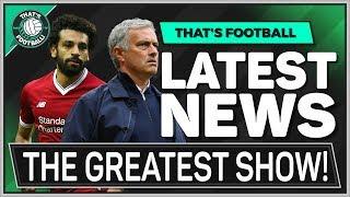 MAN UTD vs LIVERPOOL | MOURINHO vs SALAH | That's Football