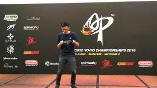 Marcus Koh (SG): 1A Division Finals  - Asia Pacific Yo-yo Championships 2018