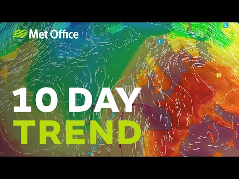 10 Day Trend – A Warm Spell On The Way And Some Heavy Rain 09/09/20