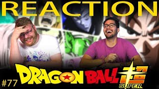 Dragon Ball Super [ENGLISH DUB] REACTION!! Episode 77