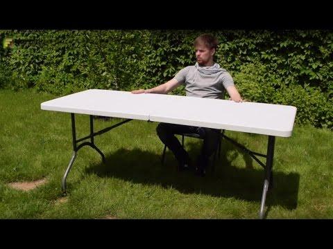 Большой стол для кемпинга XXL. Обзор раскладных столов