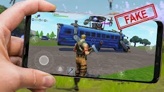 FORTNITE MOBILE WITH FAKE BETA FOR ANDROID, NEW MAP AND NEW MODE IN FREE FIRE AND MORE