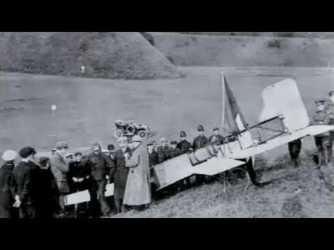 Aviation History - Louis Blériot's Flight Across The English Channel