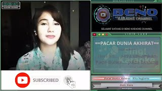 Pacar Dunia Akhirat - Rita Sugiarto (karaoke duet Rara | cover smule)
