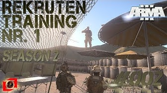 Arma 3 | Rekruten Training Nr. 1 | #002 | Season 2 | TFR & Karte  [German] [HD]