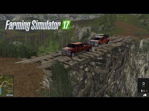 Farming Simulator 17 #25 | Explorando Mapa Forestal Pacific Inlet Logging