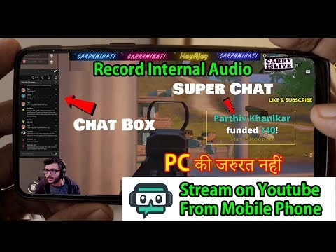 Streamlabs Android Tutorial ▶ How To🔴Live Stream With Streamlabs On Android With Internal Audio