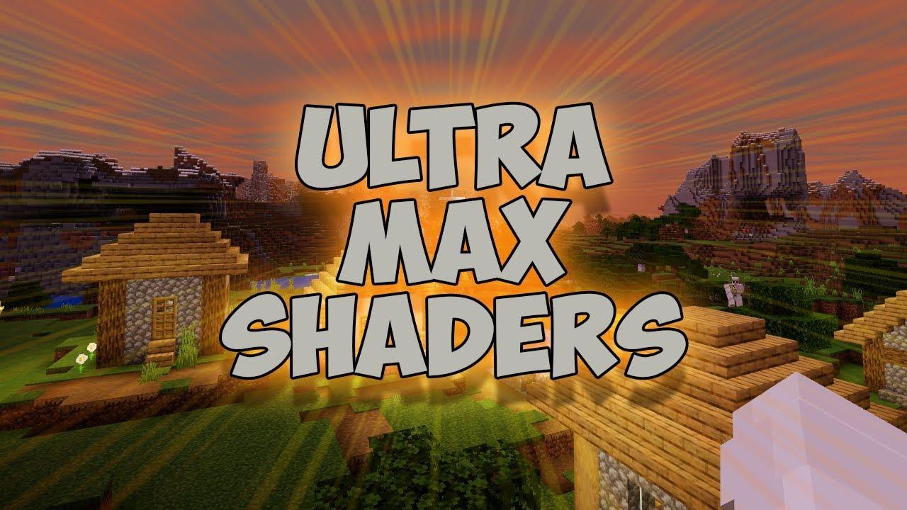 *NEW* UltraMAX Shaders For Minecraft PE / Bedrock / Win10 - 1 11