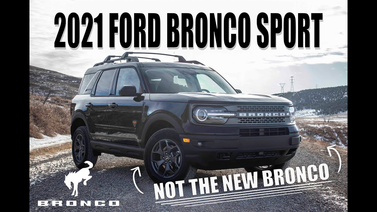 2020 Ford Bronco Sport | Not The New Bronco